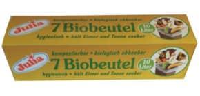 Müllsack BIO 10L 7ST grün JULIA A96001 Produktbild