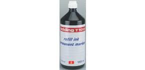 Nachfülltusche  rot EDDING T1000-002 1000ml Produktbild