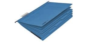 Hängemappe Personalhefter A4 blau FALKEN 15046527 230g UniReg 7 Fächer Produktbild