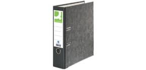 Ordner A4 80mm schwarz Q-CONNECT KF20049/11411642 Pappe Produktbild