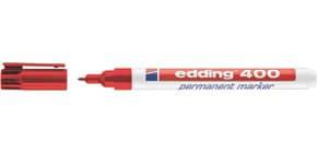 Permanentmarker 400 1mm rot EDDING 400-002 Rundspitze nachfüllbar Produktbild