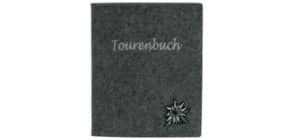 Tourenbuch Edelweiß grau Produktbild