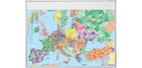 Wandtafel Weltkarte FRANKEN KA650M magnethaft Produktbild