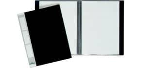 Sichtbuch A4 20 Hüllen schwarz DURABLE 2422 01 Produktbild