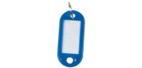 Schlüsselanhänger 10ST d.blau Q-CONNECT KF10872 Produktbild