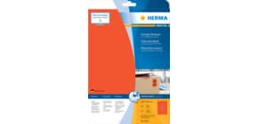Universaletiketten 210x297 rot HERMA 4422 SuperPrint Produktbild
