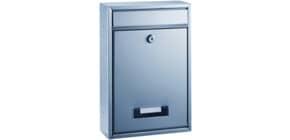 Postkasten mit Fenster silber ALCO 8602 Produktbild