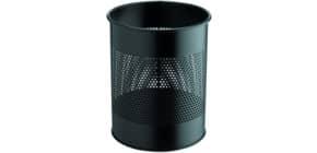 Papierkorb 15L schwarz rund DURABLE 3310 01 Produktbild