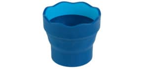 Wasserbecher Clic&Go blau FABER CASTELL 181510 Produktbild