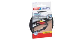 Kabelmanager universal schwarz TESA 55239-00000-01 10mmx5m Produktbild