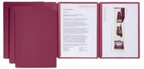 Präsentationsmappe 3tlg. rot PAGNA 22003 01 Sprint Produktbild