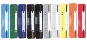 Heftstreifen PP 34x150mm 250ST sortiert Q-CONNECT 2102502011 Plastikdeckleiste Produktbild