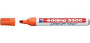 Permanentmarker 1-5mm orange EDDING 3300-006 Produktbild