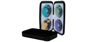 CD Wallet f. 48CDs schwarz Q-CONNECT KF02205 Produktbild