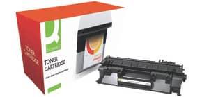 Lasertoner schwarz Q-CONNECT KF14571 CE505A Produktbild