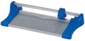 Rollen-Schneidemaschine grau/blau Q-CONNECT KF17011 für A4 Produktbild