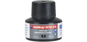 Nachfülltusche 25ml schwarz EDDING BTK25001 Produktbild