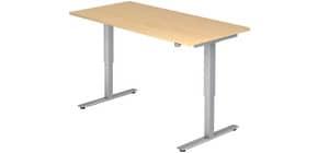 Schreibtisch 160x80cm ahorn HAMMERBACHER VXMST16/3/S elektr.höh Produktbild