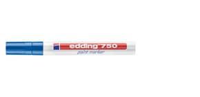 Lackmalstift 750 2-4mm blau EDDING 4-750003 Rundspitze Produktbild