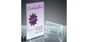 Tischaufsteller 2ST Acryl SIGEL TA150 100x45mm Produktbild