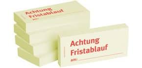 Haftnotiz Achtung Fristablauf BIZSTIX 1301010153 5ST Produktbild