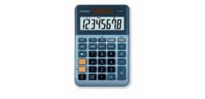 Tischrechner 8-stellig silberblau CASIO MS-80E Solar/Batterie Produktbild