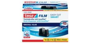 Tischabroller +1RL schwarz TESA 53903-00000-00 Smart eco Produktbild