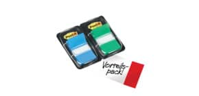 Index Duo 2ST blau/grü POST-IT 680-GB2 IndexFolie Produktbild