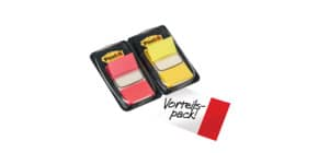 Index Duo 2ST gelb/rot POST-IT 680-RY2 IndexFolie Produktbild