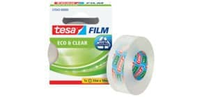 Klebefilm 19mm 33m transparent TESA 57043-00000-01 Eco & Clear Produktbild