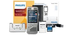 Diktiergerät digital silber PHILIPS MDC DPM8200/01 Produktbild