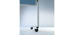 Moderatorentafel  blaugrau LEGAMASTER 2042 00 Filzbezug Produktbild