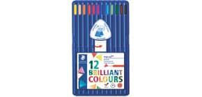 Farbstiftetui 12ST sort. STAEDTLER 157 SB12 Ergosoft Produktbild