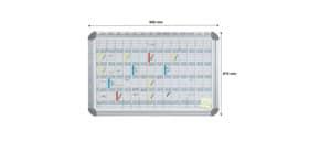 Jahresplaner EuroLine FRANKEN EU5000 91x60cm Produktbild