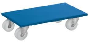 Möbelroller 2 Stück blau FETRA 2350 Produktbild