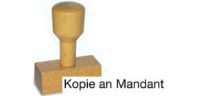 Holzstempel Kopie an Mandant LST819 Produktbild