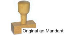Holzstempel Original anMandant LST820 Produktbild