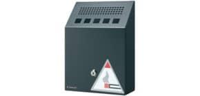 Wandaschenbecher schwarz 2.5l Durable 3333 01 Produktbild