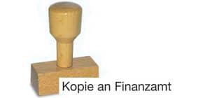 Holzstempel Kopie an Finanzamt LST821 Produktbild