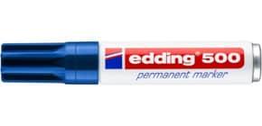 Permanentmarker 500 2-7mm blau EDDING 500-003 Keilspitze nachfüllbar Produktbild