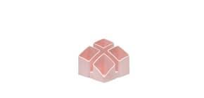 Köcher Scala quarz rosa HAN 17450-86 4tlg. Produktbild