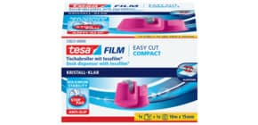 Tischabroller 19mm 33m pink TESA 53823-00000-01 EasyCut Produktbild