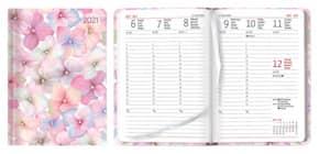 Kalender LadyTimer Blossoms 1W 2S ALPHA 20.0835  10,7x15,2cm Produktbild