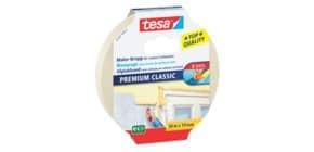 Kreppband  weiß TESA 05281-00012-07 19mm x50m Produktbild