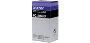 Thermotransferrolle 4RL BROTHER PC204 Produktbild