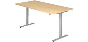Schreibtisch 180x80cm ahorn HAMMERBACHER VXMST19/3/S elektr.höh Produktbild