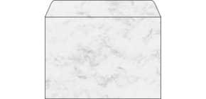 Design Kuvert C5 25ST grau SIGEL DU202 Marmor 90g Produktbild