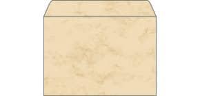 Design Kuvert C5 25ST beige SIGEL DU203 Marmor 90g Produktbild