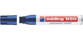 Permanentmarker 850 5-15mm blau EDDING 850-003 Keilspitze nachfüllbar Produktbild