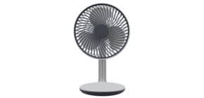 Ventilator Akku 16,6 ws/silb NABO FLOW 500178 Produktbild
